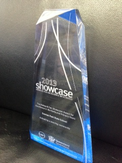 Showcase excellence award winners 2013